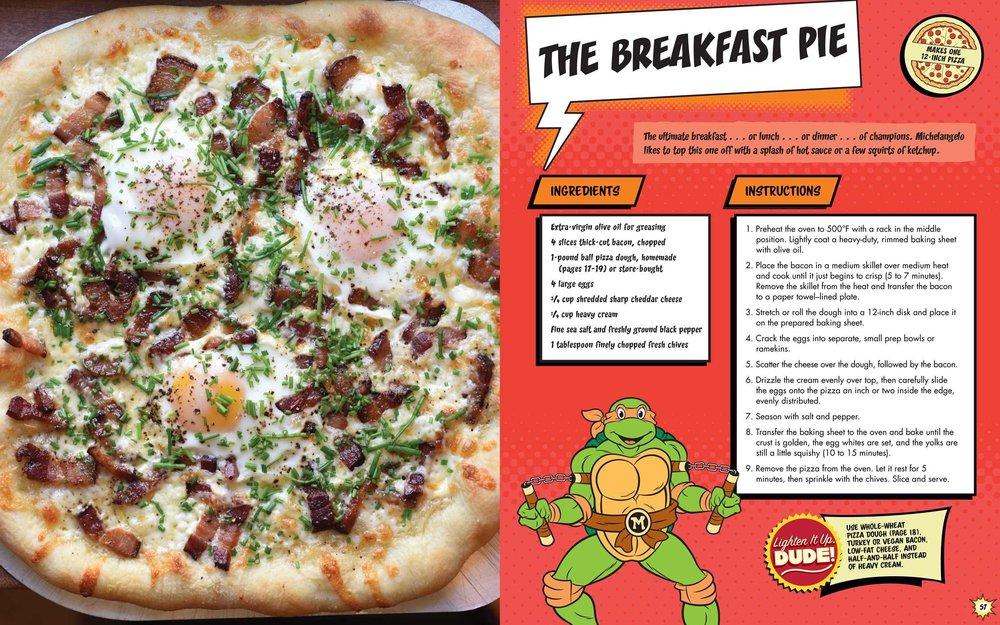The Teenage Mutant Ninja Turtles Pizza Cookbook Has Some Crazy