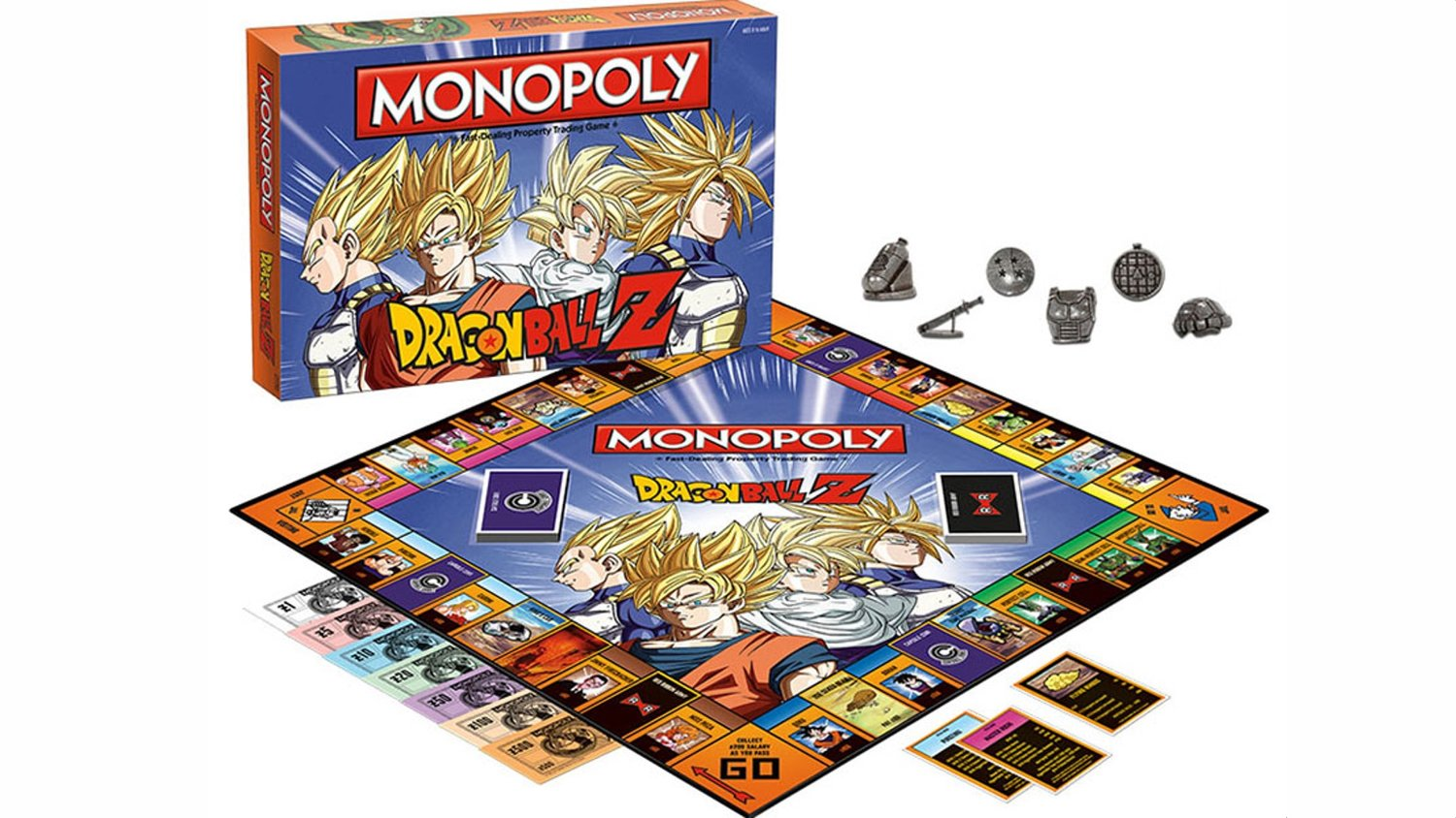 If Watching and Playing DRAGON BALL Z Isn't Enough, Here's DRAGON BALL Z Monopoly!