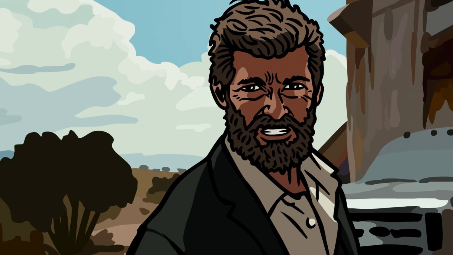 Wolverine Is an Obnoxious Drunk in Animated LOGAN Parody