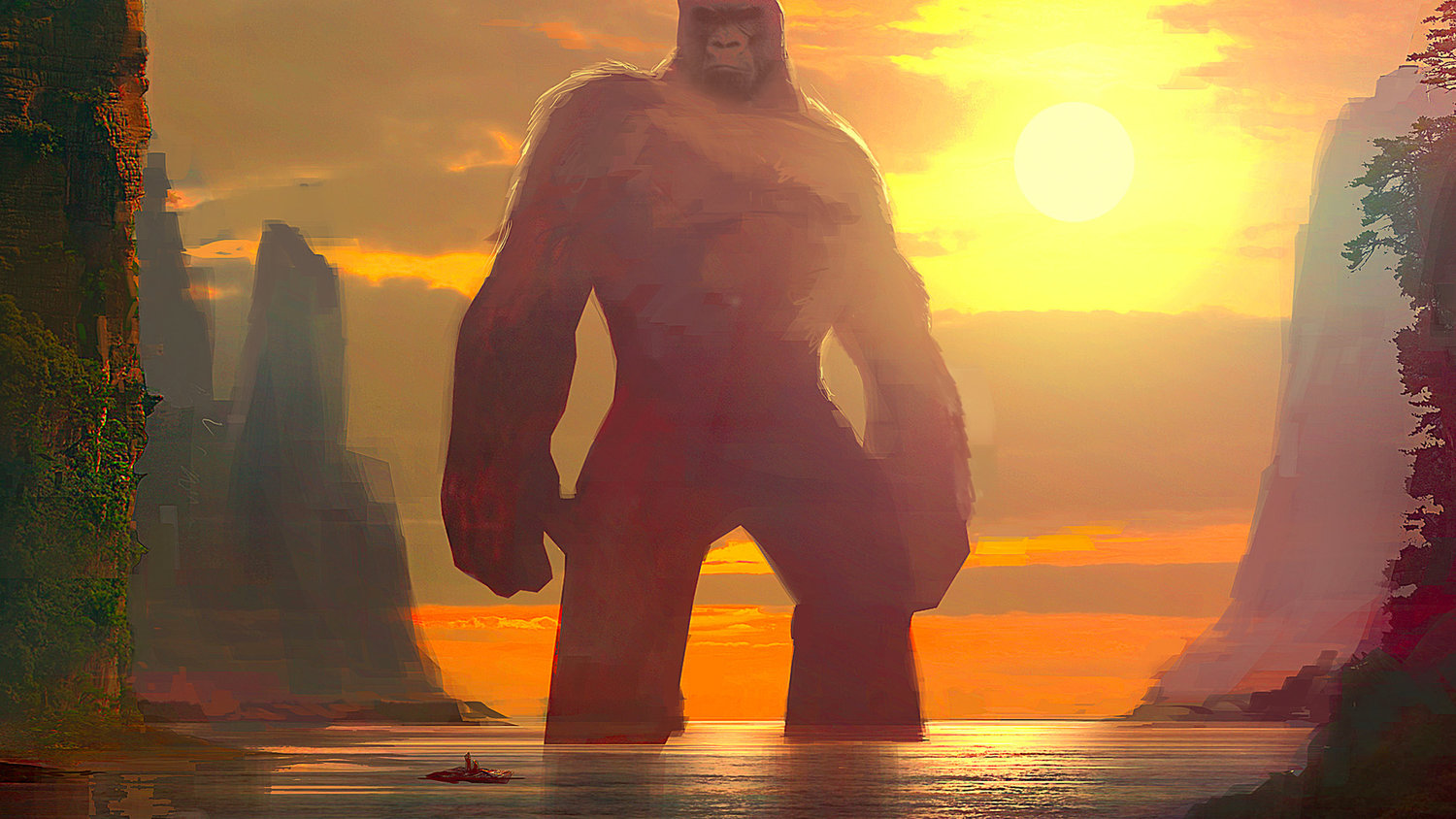 Check Out This Awesome KONG: SKULL ISLAND Concept Art