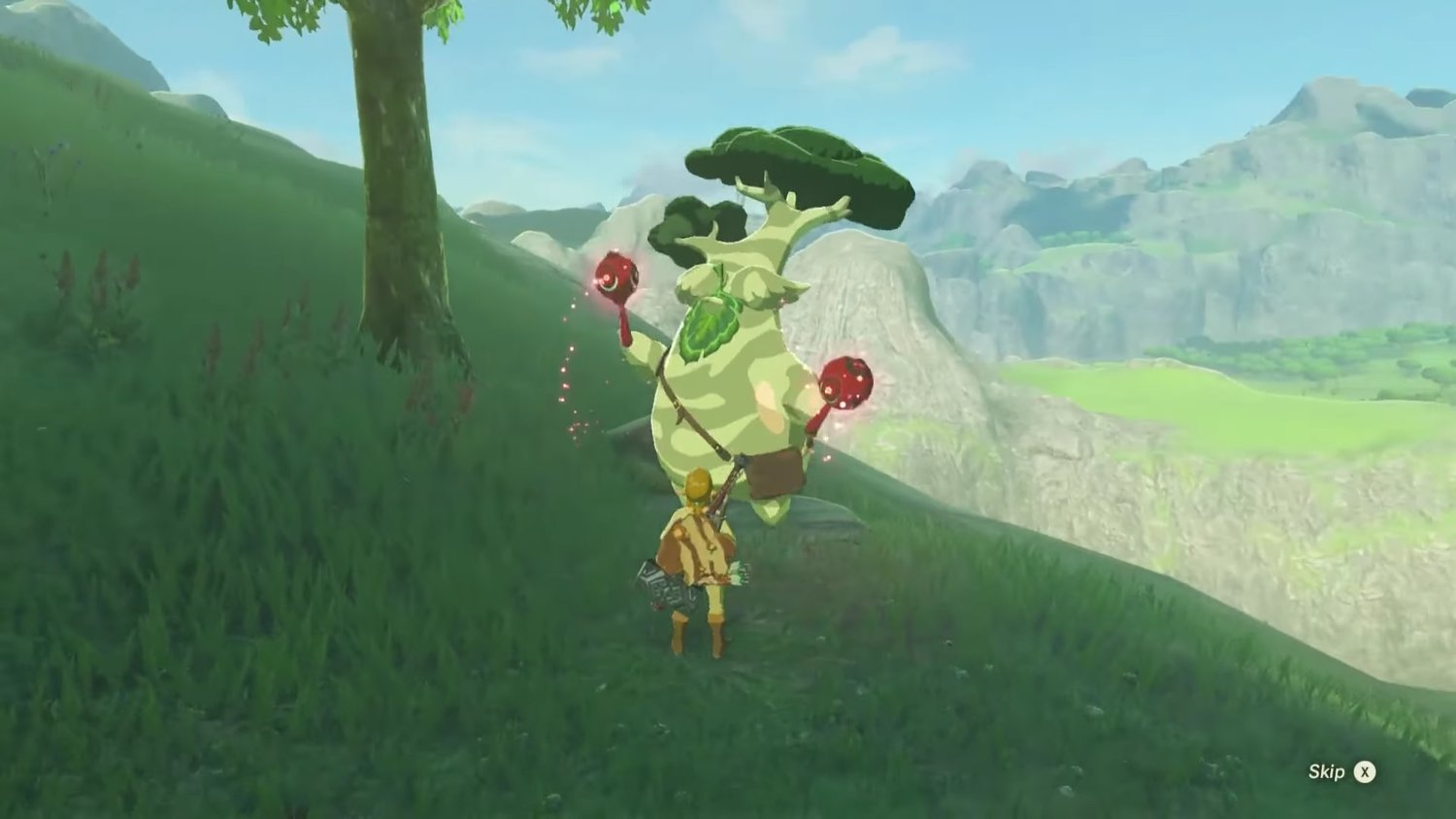 You Get A Weird Reward For Collecting All 900 Korok Seeds In THE LEGEND OF ZELDA: BREATH OF THE WILD