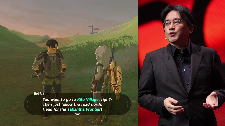 Satoru Iwata May Be In THE LEGEND OF ZELDA: BREATH OF THE WILD