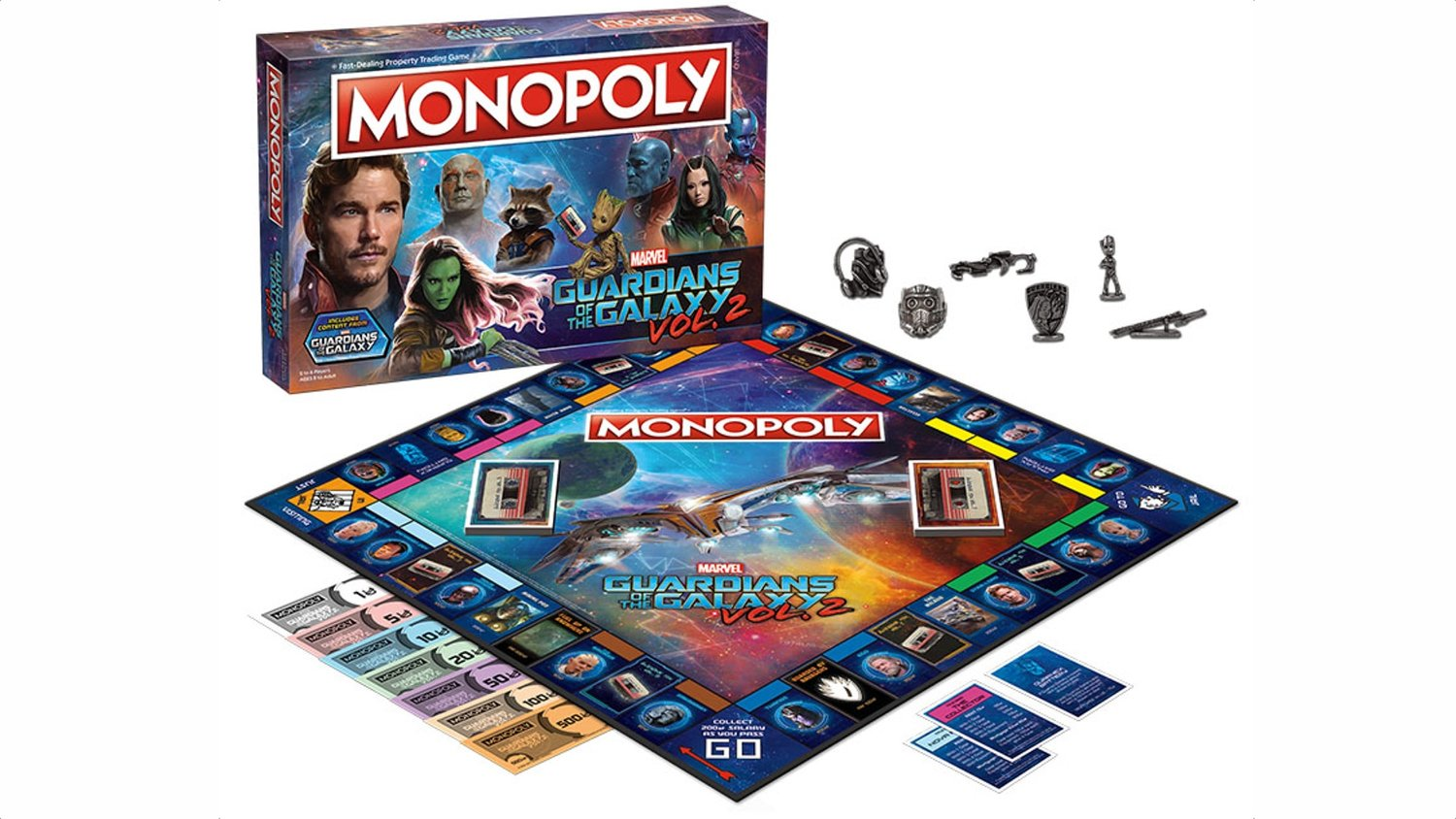 GUARDIANS OF THE GALAXY VOL. 2 Gets Its Own Monopoly Game