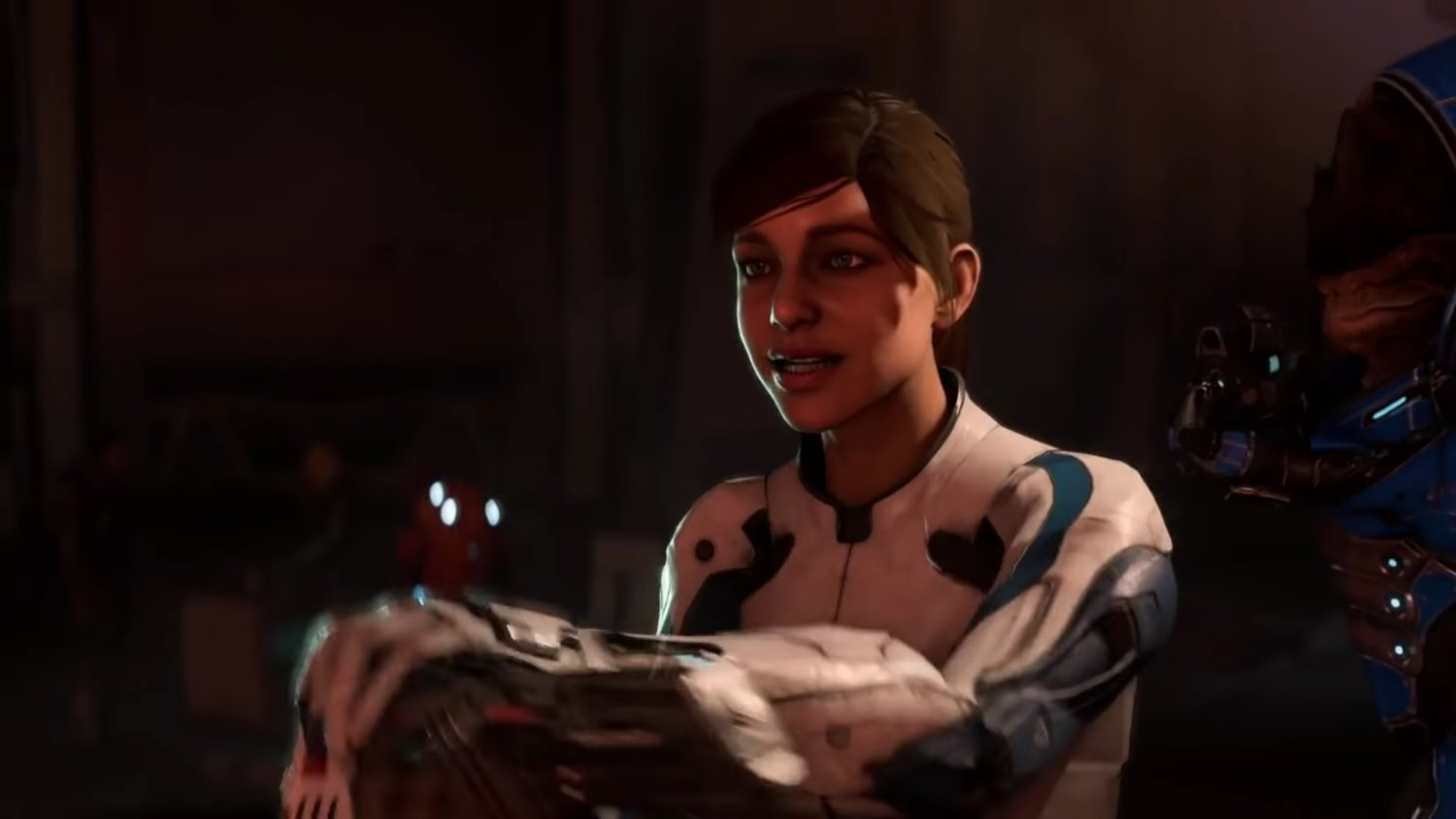 They Ain't Fixing Those Funny Faces In MASS EFFECT: ANDROMEDA Anytime Soon