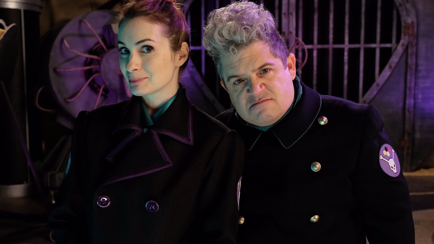New Photo of Felicia Day and Patton Oswalt in MYSTERY SCIENCE THEATER 3000