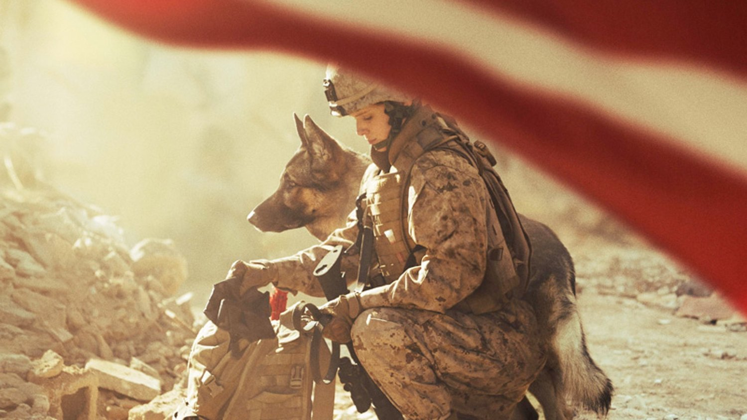 Inspiring Trailer for the War Drama MEGAN LEAVEY About a Marine and Her Dog