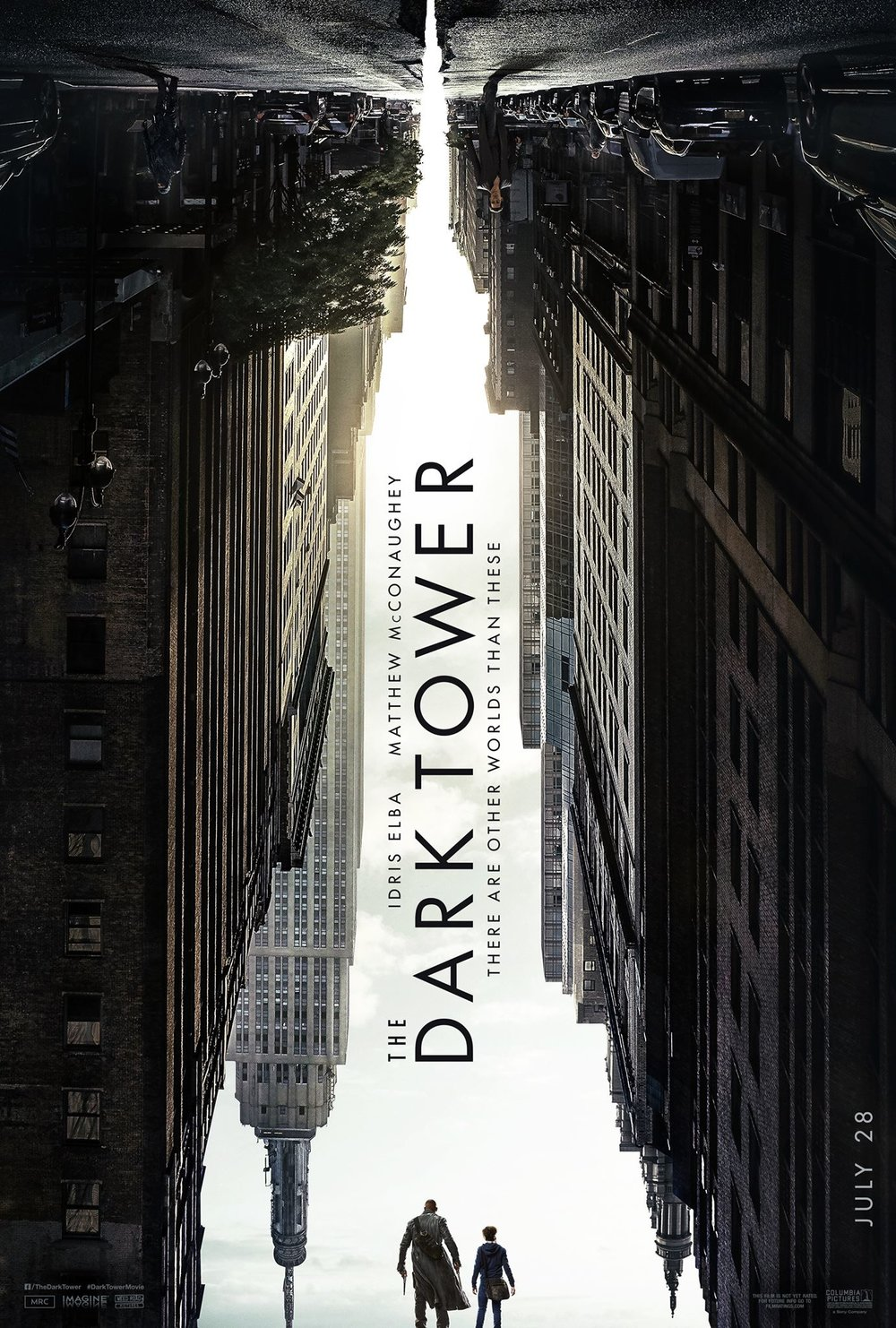 Stephen King Shares the First Movie Poster For THE DARK TOWER1