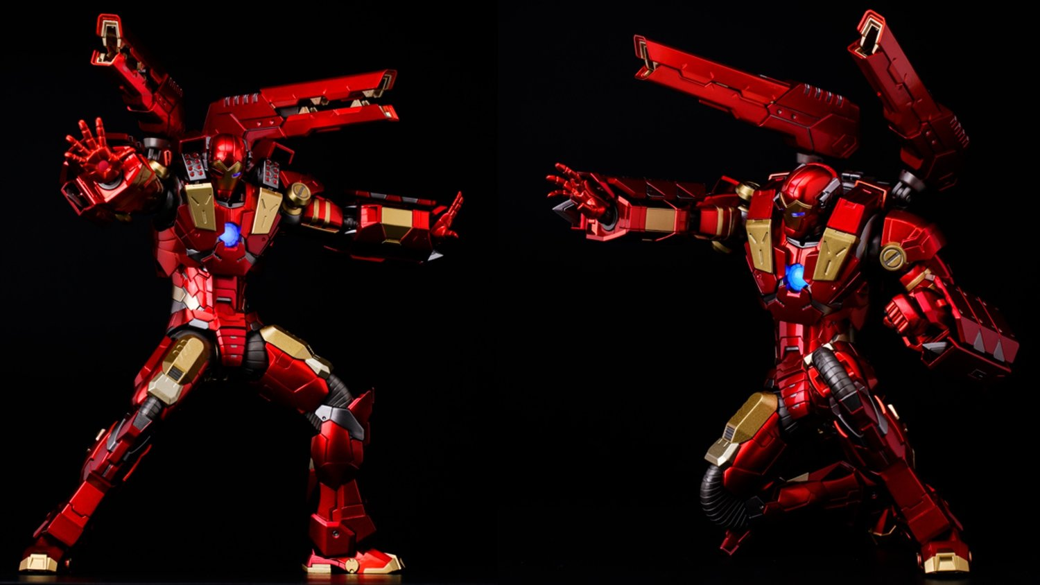Insane Iron Man Action Figure With a Wicked Plasma Cannon!
