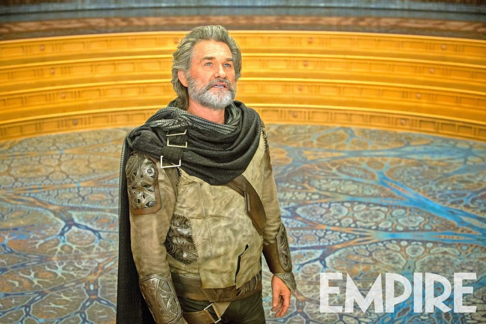 New Photo of Kurt Russell as Ego in GUARDIANS OF THE GALAXY VOL. 2 and More