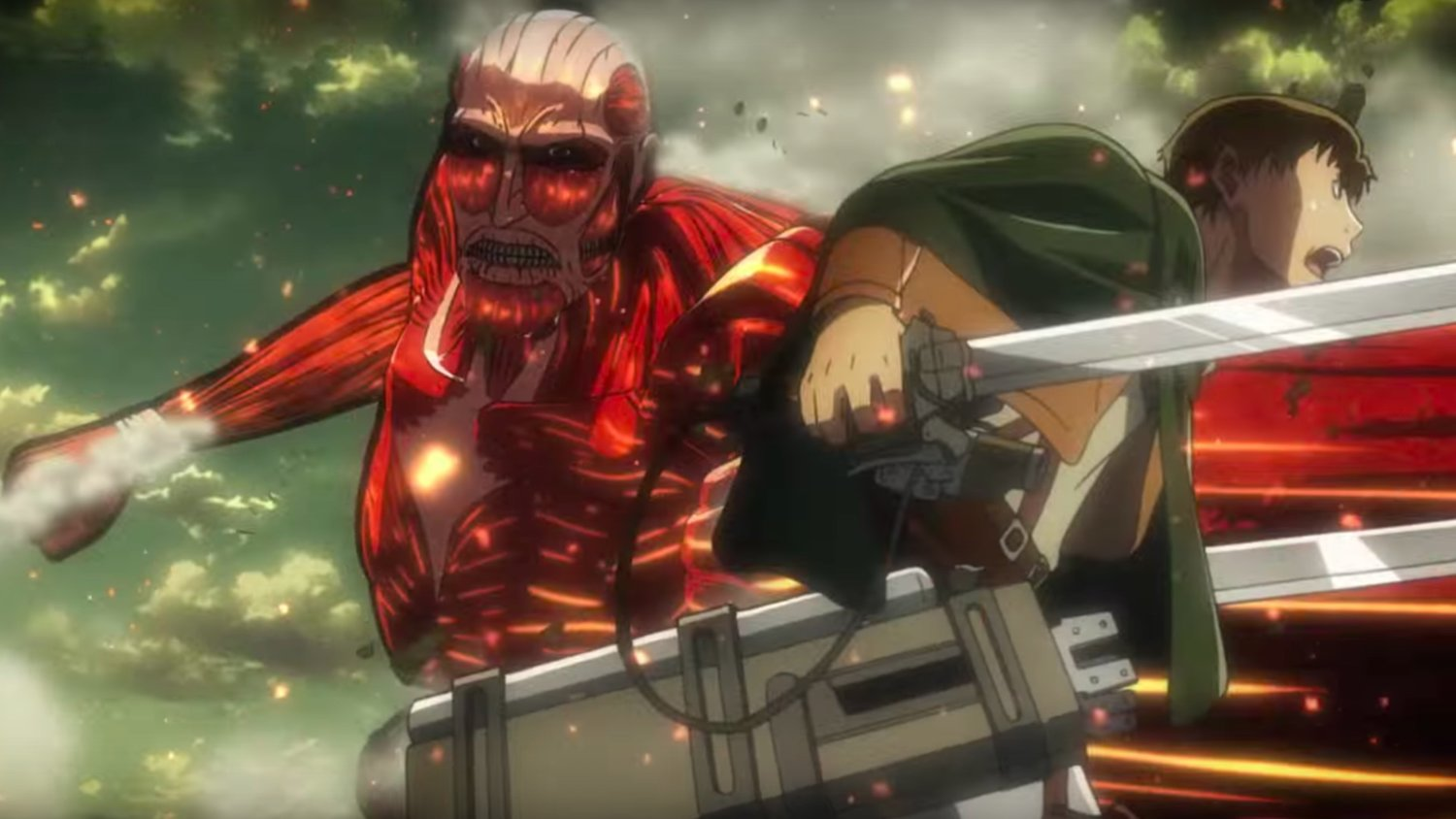 New ATTACK ON TITAN Season 2 Trailer Is an All Out Brutal War of Titans!