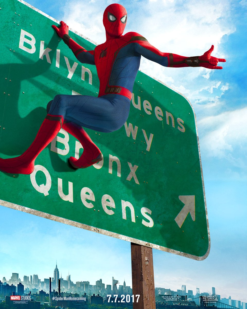 spider-man-is-hanging-off-a-highway-sign-in-new-poster-for-spider-man-homecoming1