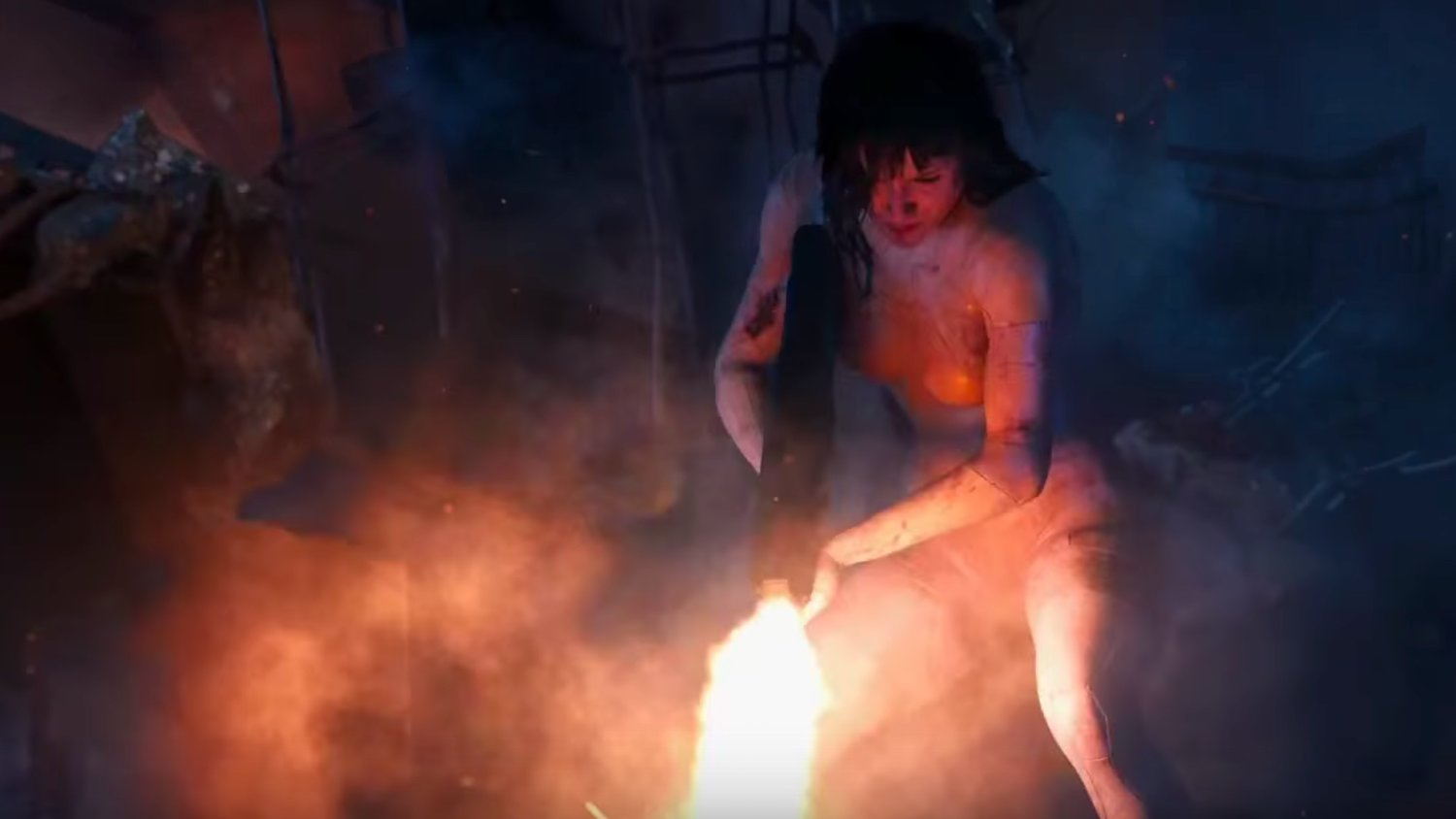 The Major Battles the Hexapod Tank in Thrilling Final Trailer for GHOST IN THE SHELL