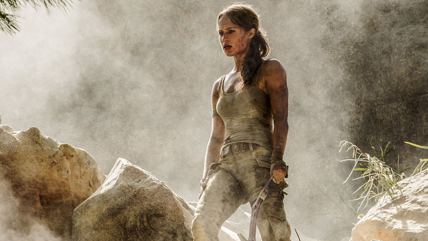 First Official Photos of Alicia Vikander as Lara Croft in TOMB RAIDER and Plot Synopsis