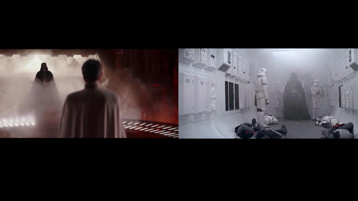 Watch: ROGUE ONE Shots Compared with the Original STAR WARS Trilogy