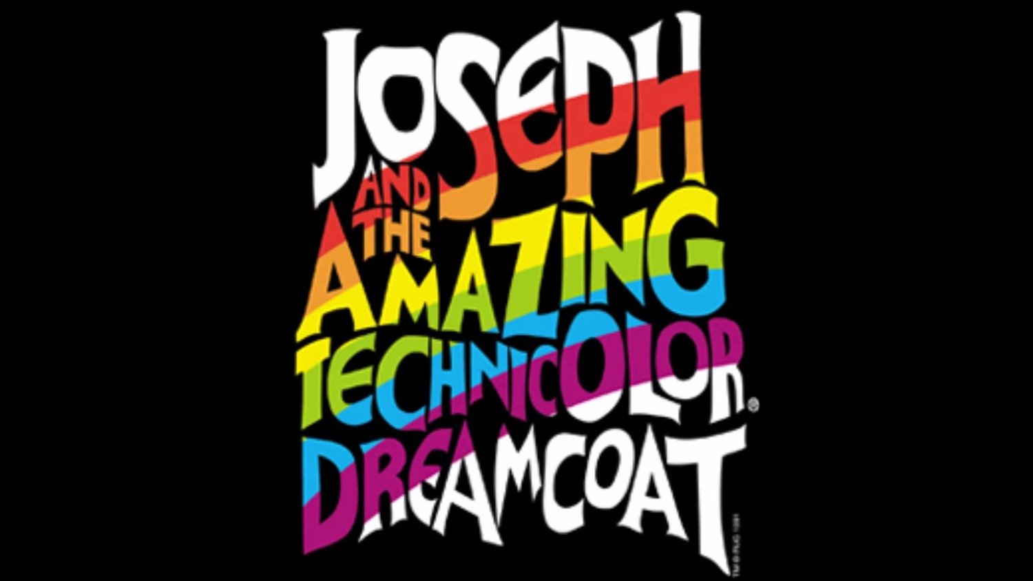 JOSEPH AND THE AMAZING TECHNICOLOR DREAMCOAT will be an Animated Film