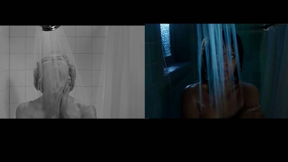 shower scene from psycho