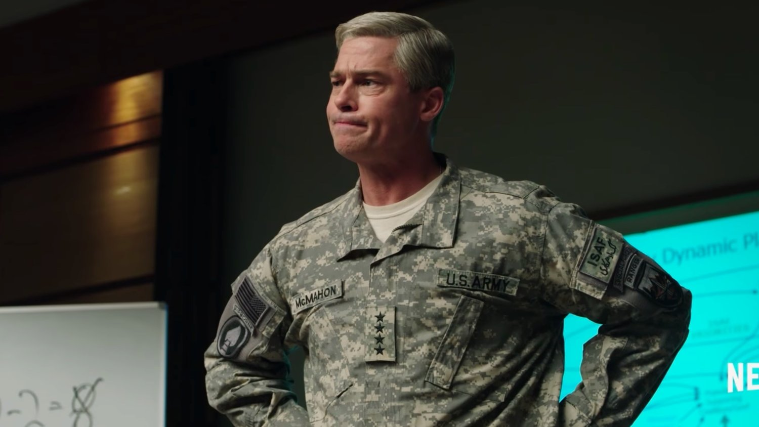 Brad Pitt is Ready for Battle in the New Trailer for Netflix's WAR MACHINE
