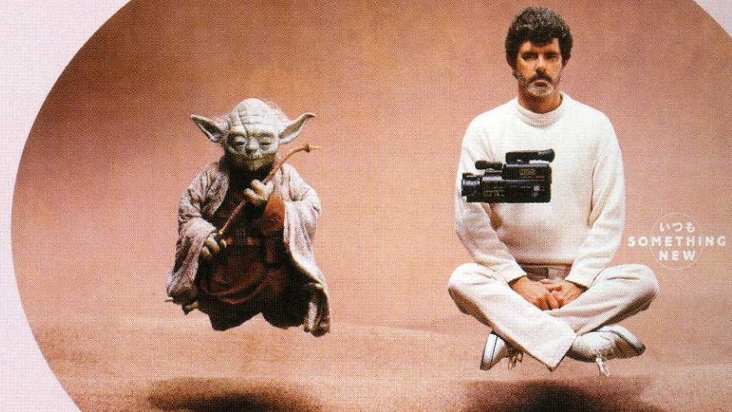 These 1987 STAR WARS-Themed Japanese Panasonic Ads Starring George Lucas Are Strangely Cool