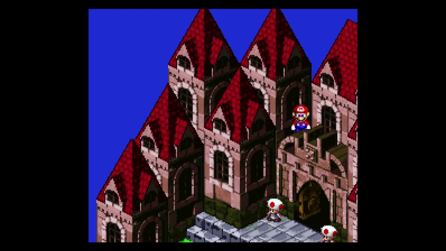 See What's Happening Off Camera In SUPER MARIO RPG