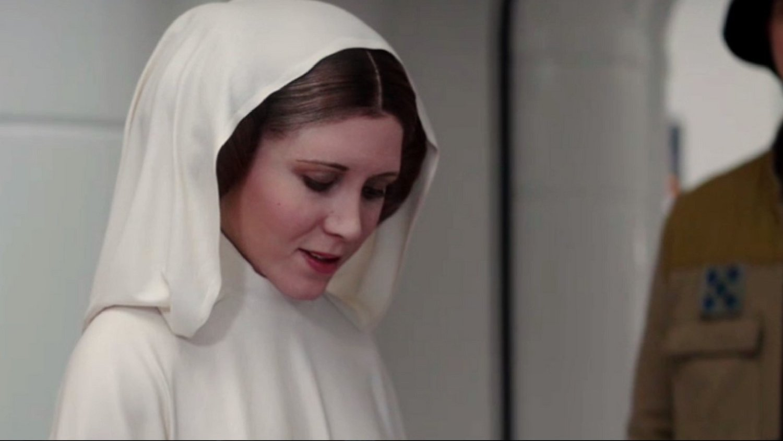 ROGUE ONE Set Photos Show Princess Leia Without the CGI Makeover
