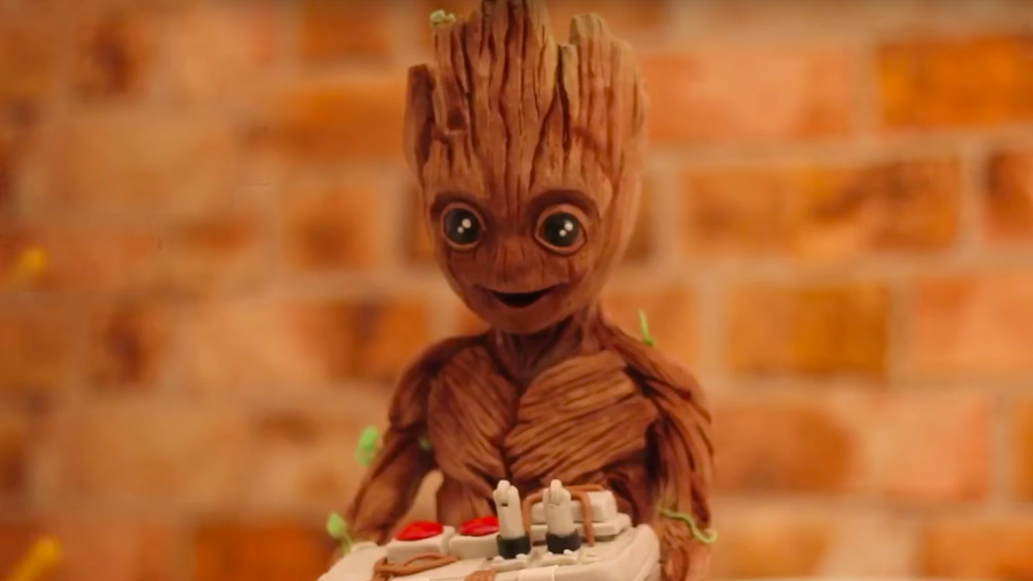 Check Out This Ridiculously Detailed Baby Groot Chocolate Sculpture