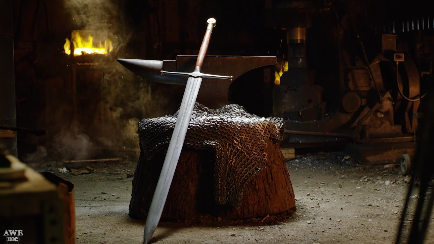 Man At Arms Constructs Ned Stark's Blade