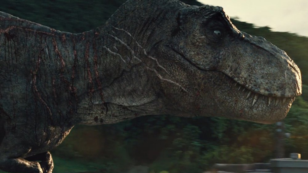 The T Rex Will Be Back For Jurassic World 2 To Wreak Havoc