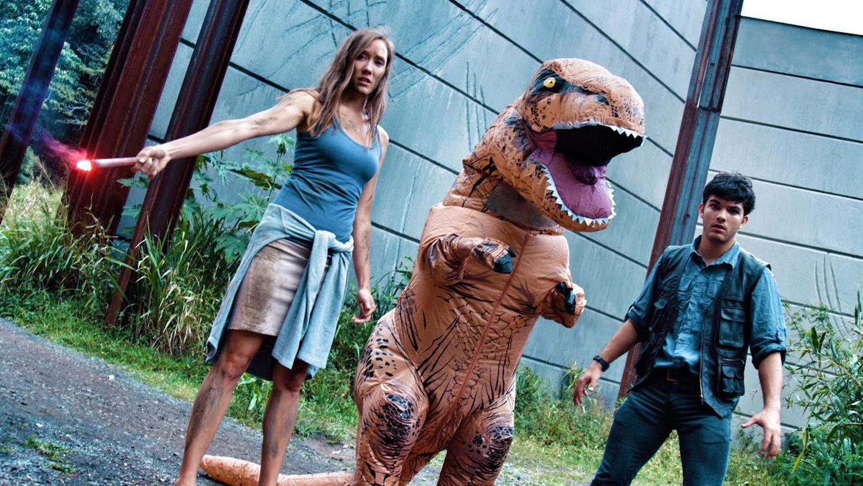JURASSIC WORLD Remade With a Parkour T-Rex