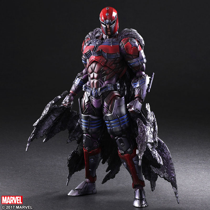 Square Enix Reveals Their Magnetically Charged Magneto Action Figure