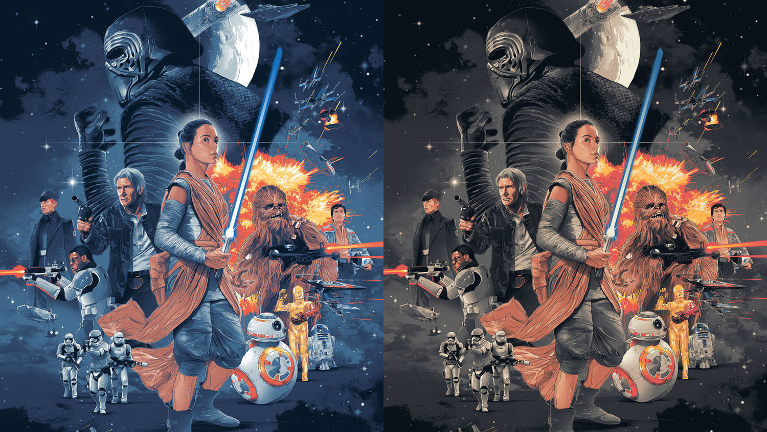 You Can Own This Awesome STAR WARS: THE FORCE AWAKENS Poster