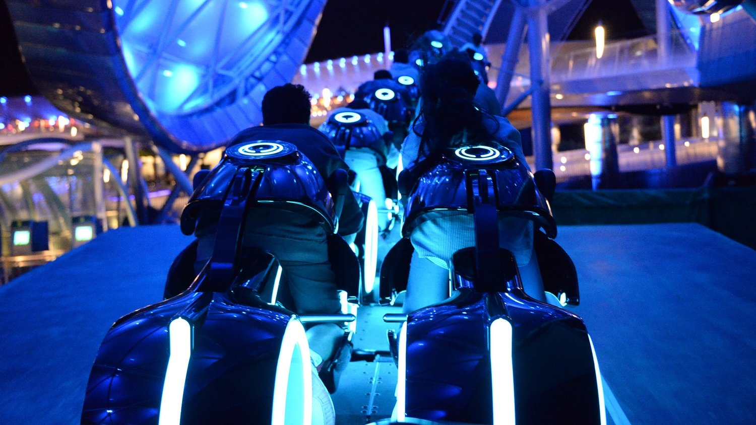 The TRON Lightcycle Power Run Roller Coaster Might Being Coming to Disneyland and Disney World