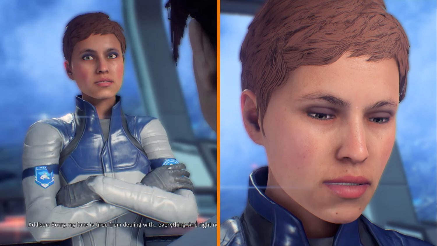 See The Tremendous Difference The Patch For MASS EFFECT: ANDROMEDA Made