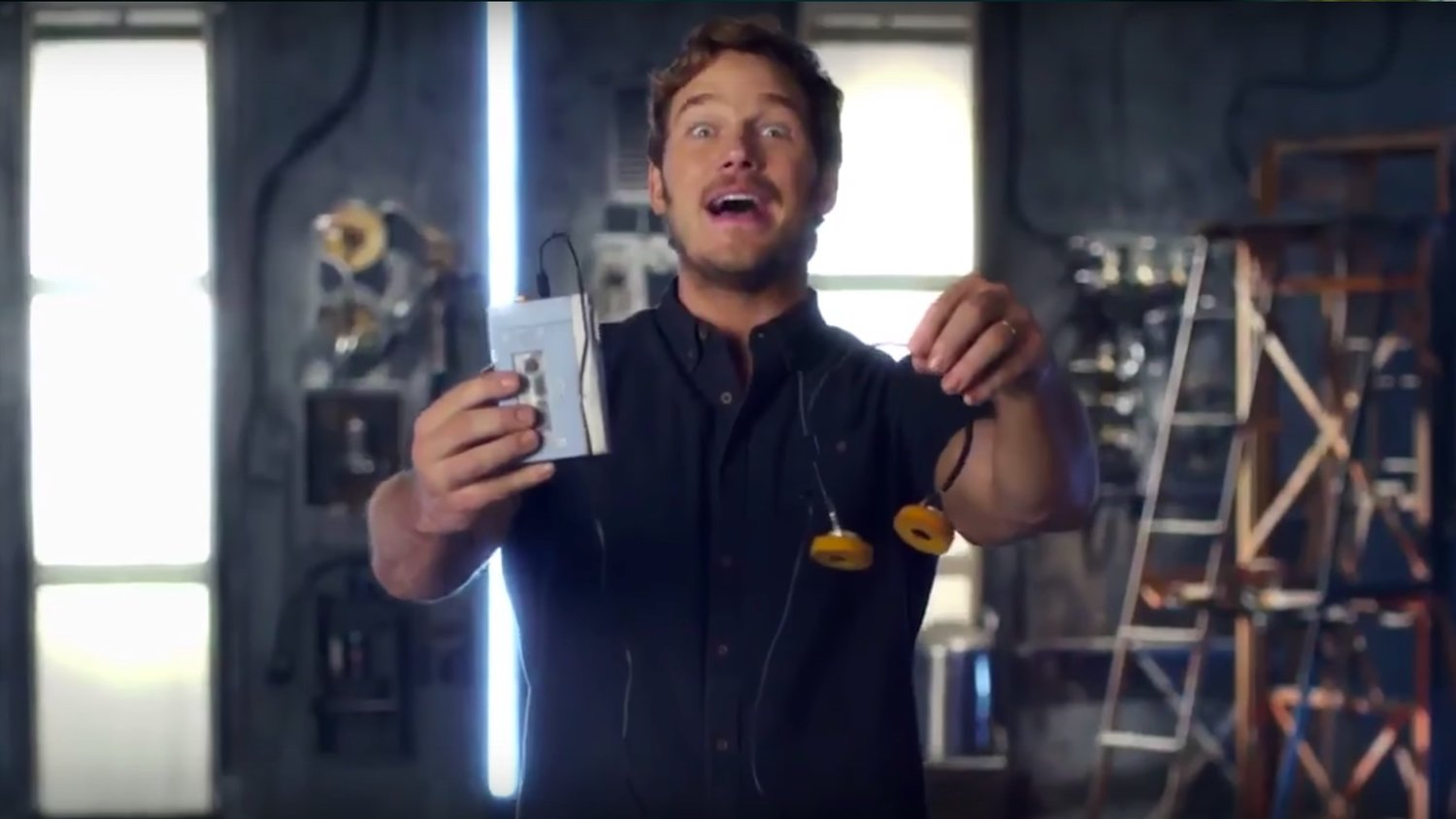 Chris Pratt Hilariously Explains What a Walkman is in GUARDIANS OF THE GALAXY VOL. 2 Promo