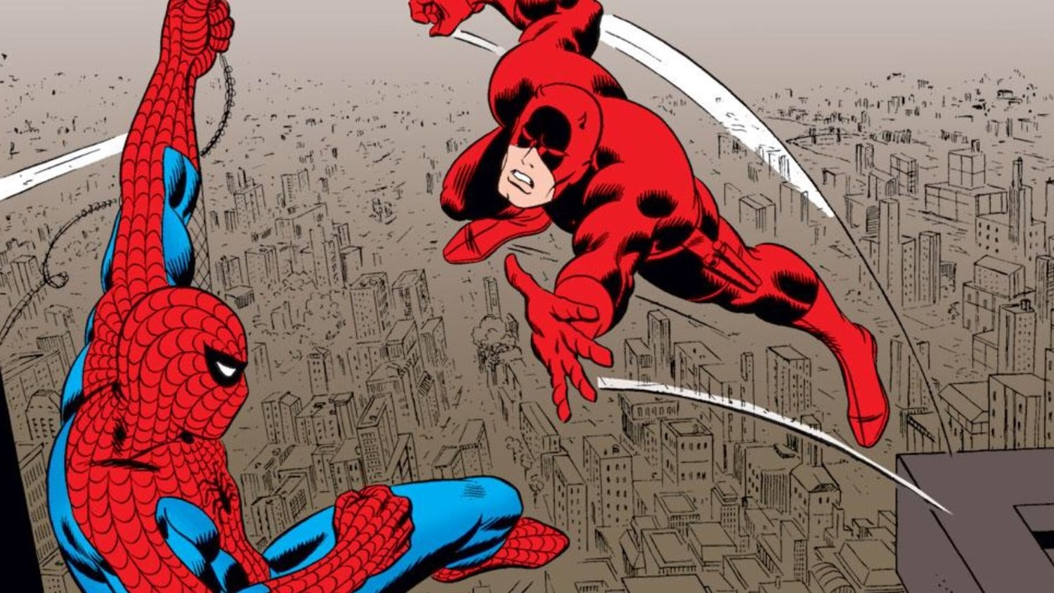SPIDER-MAN: HOMECOMING Producer Wants to See a Spider-Man and Daredevil MCU Crossover