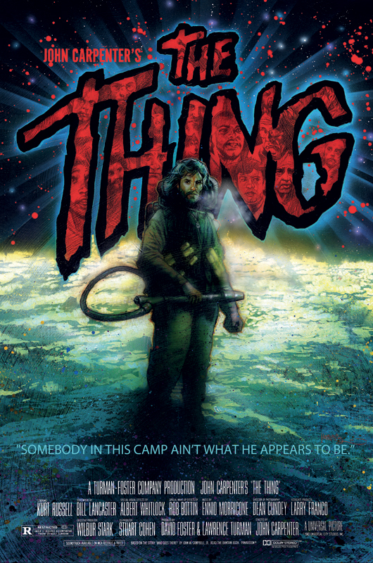 Striking Art Previewed For John Carpenter's THE THING 35th ...