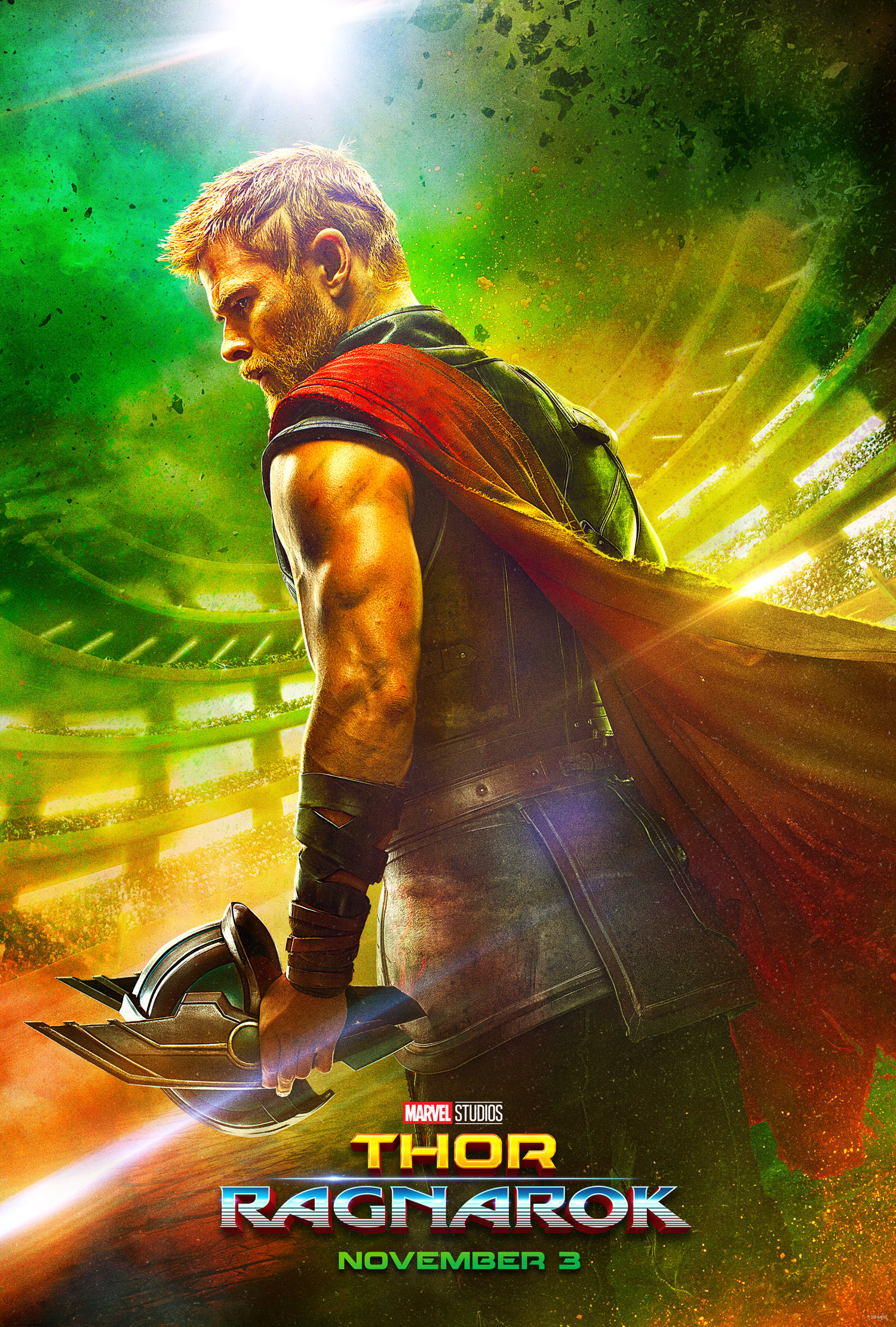 New Thor Ragnarok Poster And 65 Screenshots From The Trailer