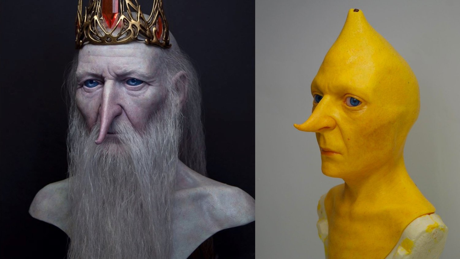 These Life-Like Busts of Ice King and Lemongrab From ADVENTURE TIME Are Creepy as Hell