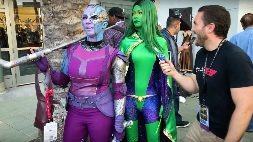 RBS Cosplay Closet - Nebula from Guardians of the Galaxy!