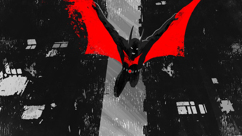 The Dark Knight Takes Flight in This Cool BATMAN BEYOND Print
