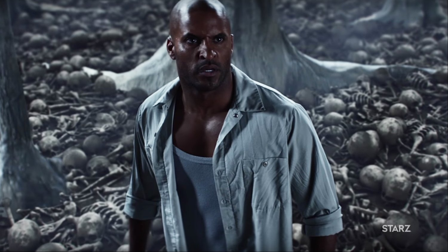 Two New Clips of Neil Gaiman's AMERICAN GODS Series Focus on Shadow Moon