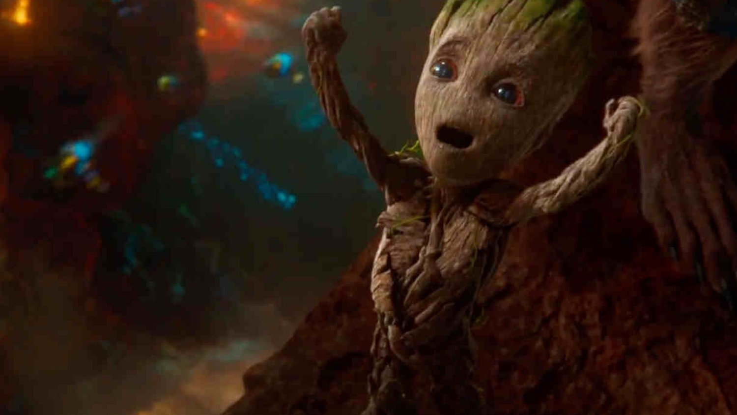 Baby Groot Punches Little Dinosaur Creatures in the Face in New Spot For GUARDIANS OF THE GALAXY VOL. 2