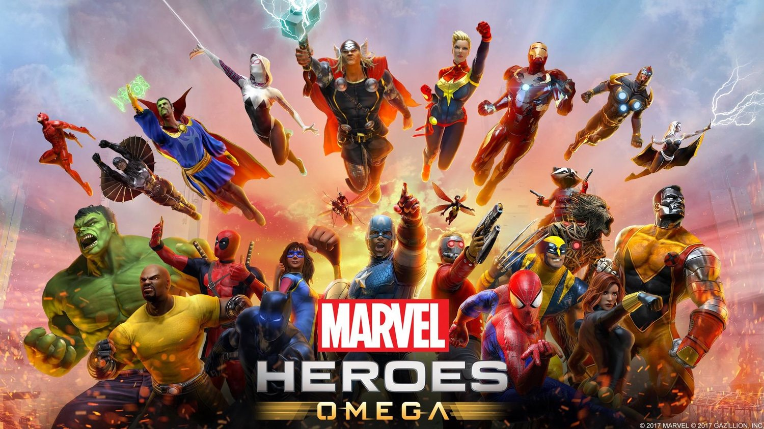 MARVEL HEROES OMEGA Getting Exclusive PS4 Beta