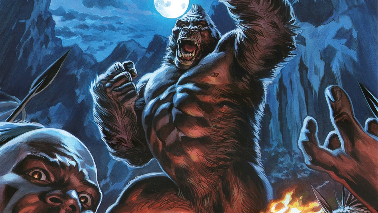 There's a KING KONG SKULL ISLAND TV Series in Development