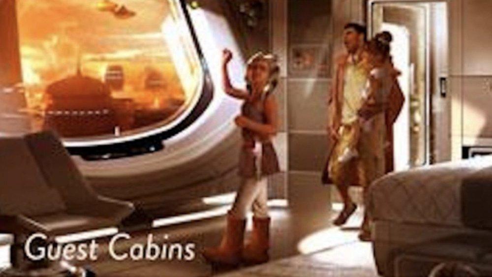 Disney Might Build A Interactive Star Wars Themed Starship