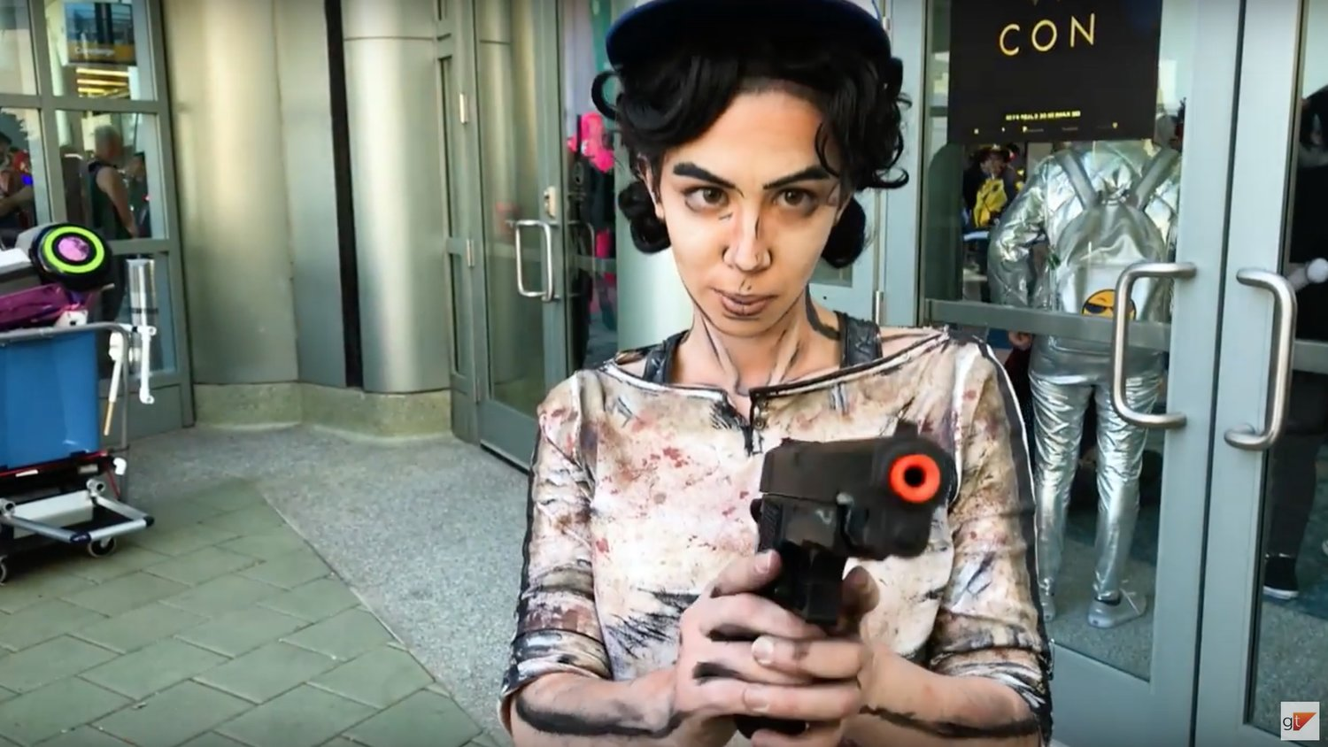 Tyrants of Cosplay: Clementine From THE WALKING DEAD: A NEW FRONTIER Video Game