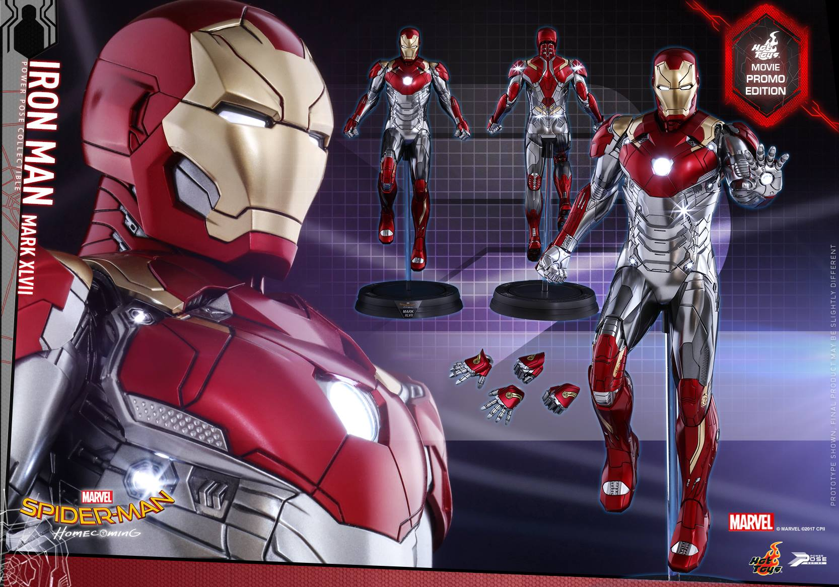 Hot Toys Reveals Iron Man S Mark Xlvii Armor Action Figure From