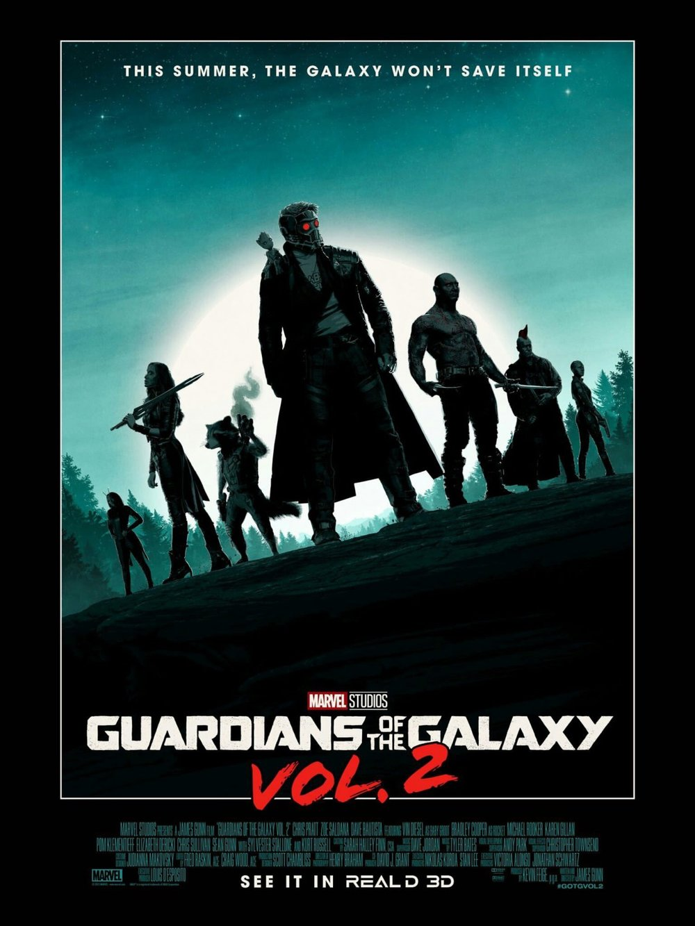 new guardians of the galaxy vol  2 poster art and 3 tv