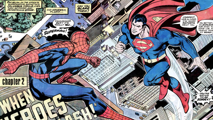 marvel comics versus dc
