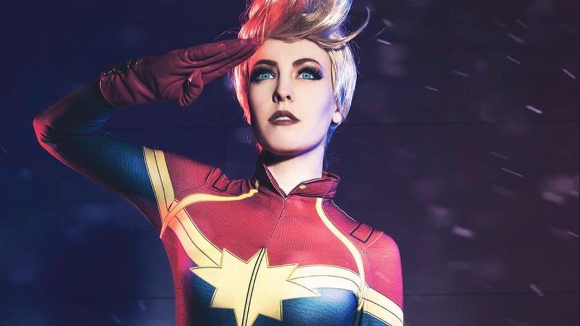 Absolutely Stunning Captain Marvel Cosplay Geektyrant