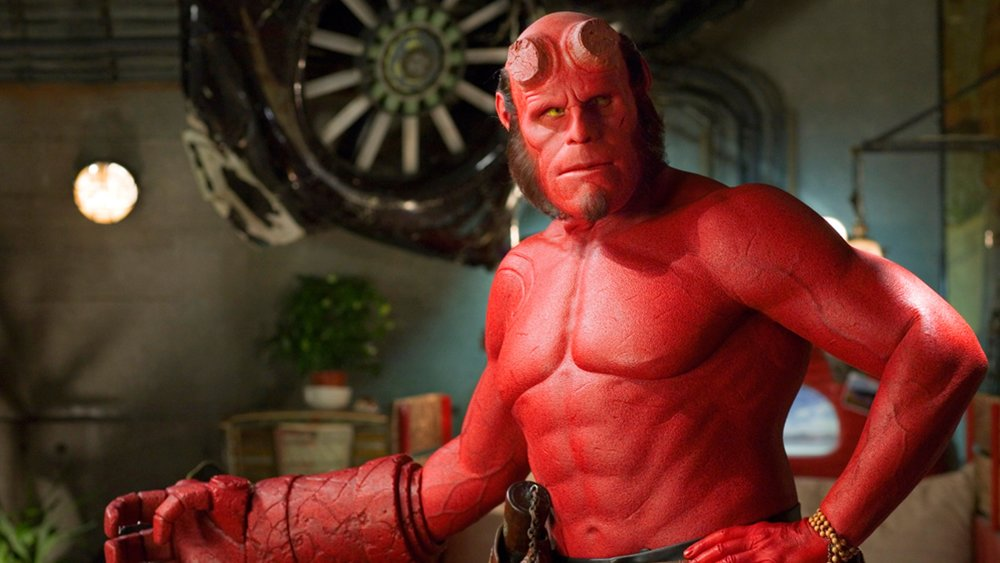 ron perlman was feelin the love after the new hellboy